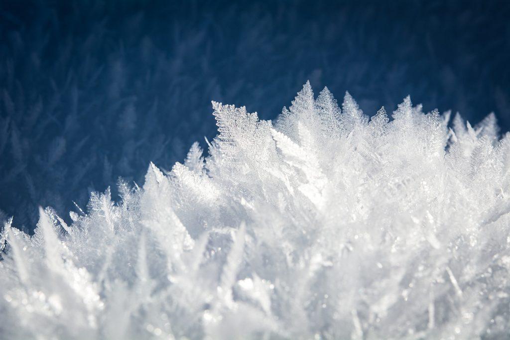 الثلج, فروست, تشكيلات, البلورات, الهياكل, 1801102121
