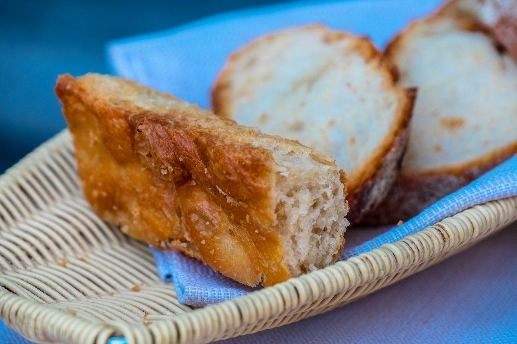 面包, 海绵蛋糕, 烤, 购物篮, 柳条, 1801022224