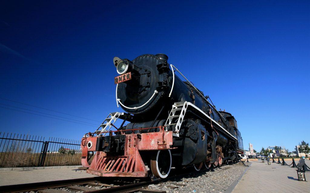 tren, locomotora, ferrocarril, máquina, antigua, 1801192027