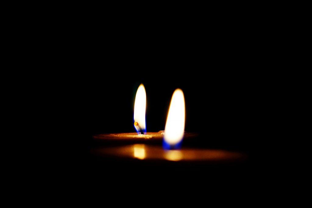 蜡烛, 火焰, 光, 晚上, 黑暗, 1801140820