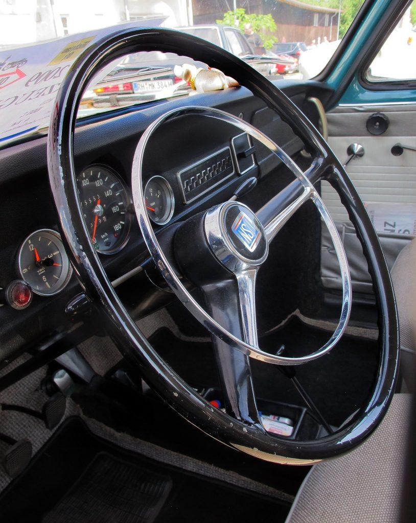 方向盘, 汽车, 老, 年份, 仪表板, 1801162100