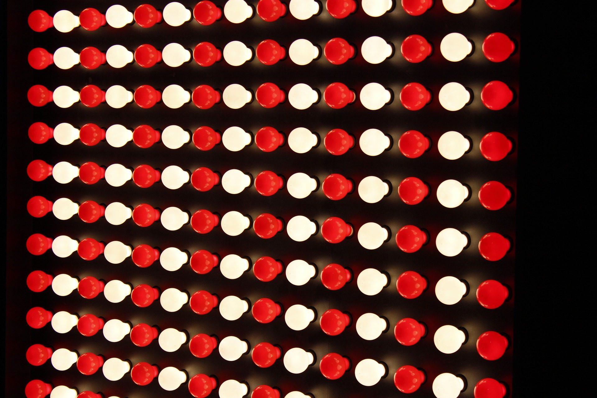電球, ライト, 色, 照明, ディゼーニョ, 数量 - HD の壁紙 - 教授-falken.com