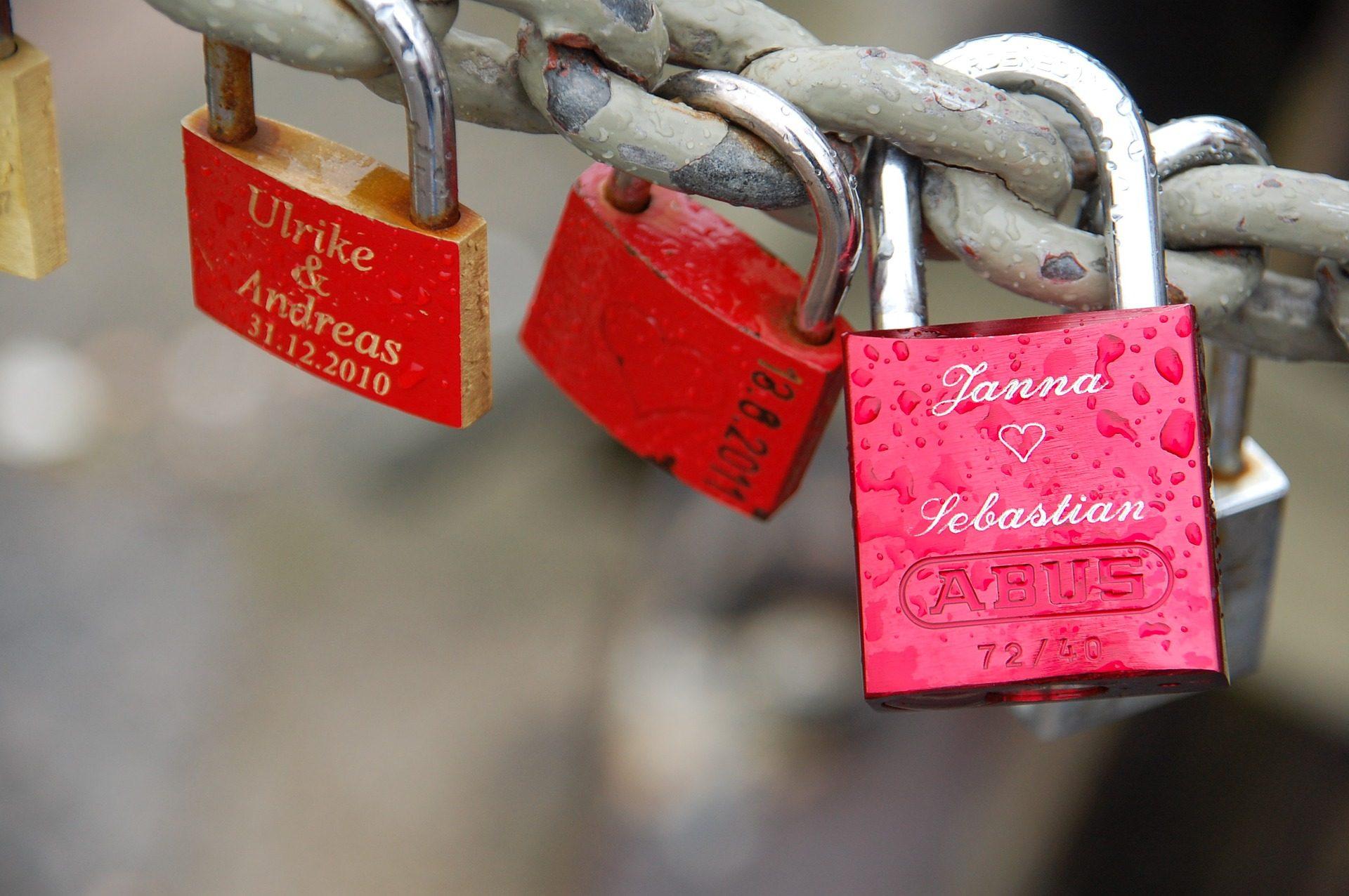 padlocks, प्यार, का वादा किया, शुभकामनाएं, चेन - HD वॉलपेपर - प्रोफेसर-falken.com