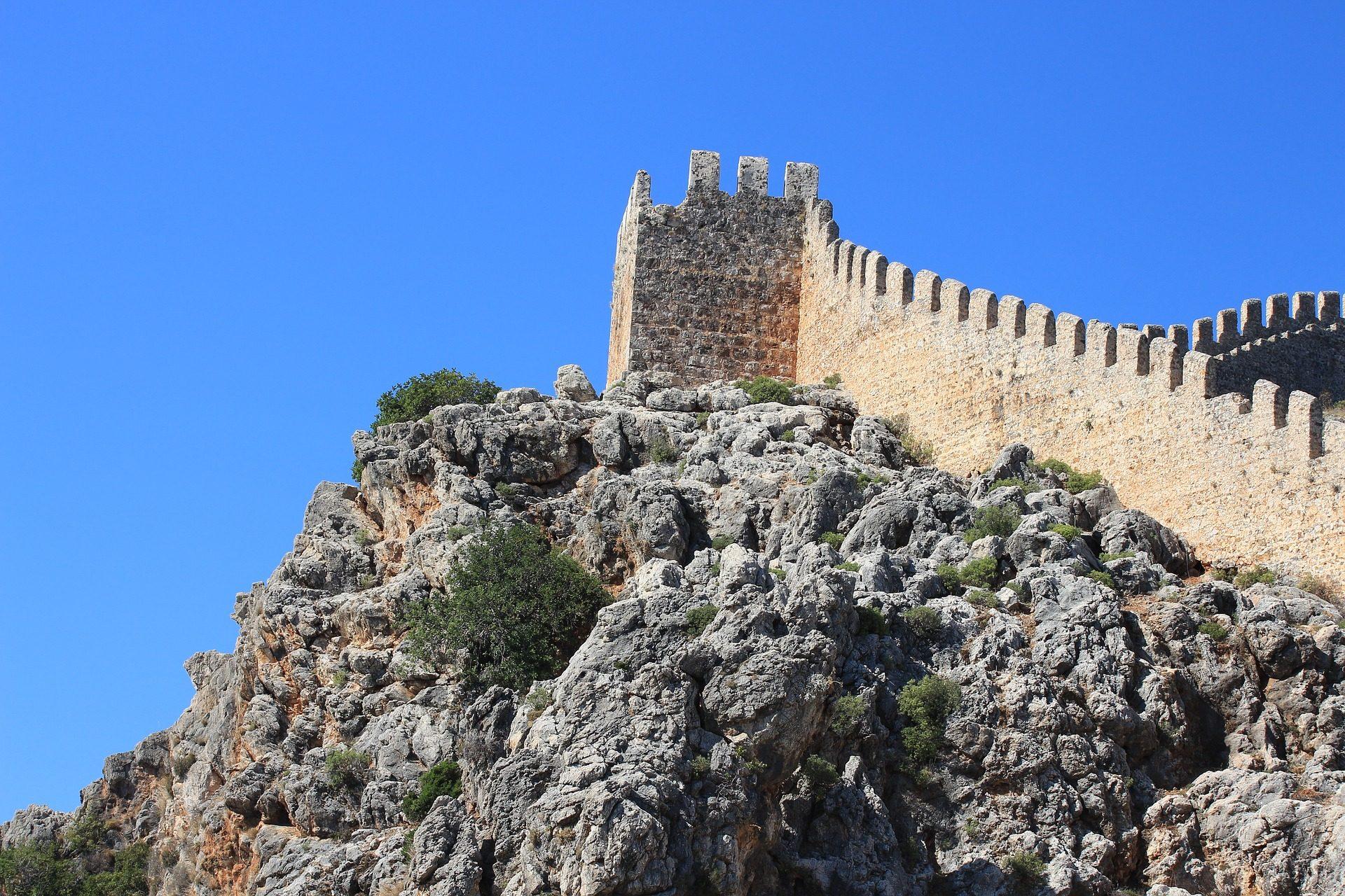 Замок, Монтанья, руины, Башня, Стена - Обои HD - Профессор falken.com