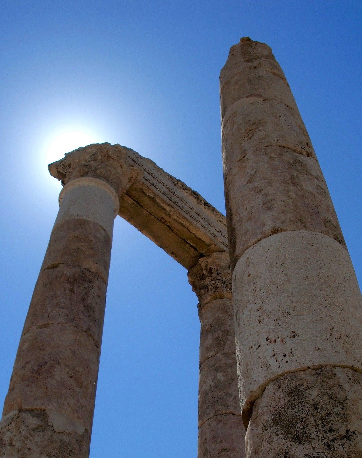στήλες, ερείπια, πέτρες, Rocas, Αρχαία - Wallpapers HD - Professor-falken.com
