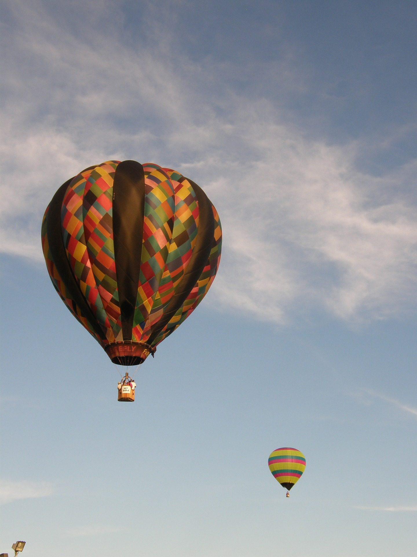 palloncini, aria calda, volare, altezza, Cielo, nuvole - Sfondi HD - Professor-falken.com