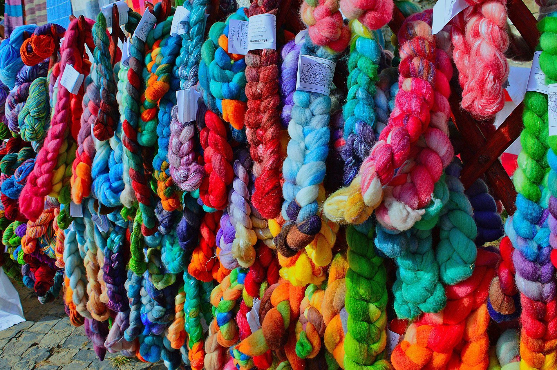 hilos, cuerdas, lazos, trenzas, colorido - Fondos de Pantalla HD - professor-falken.com