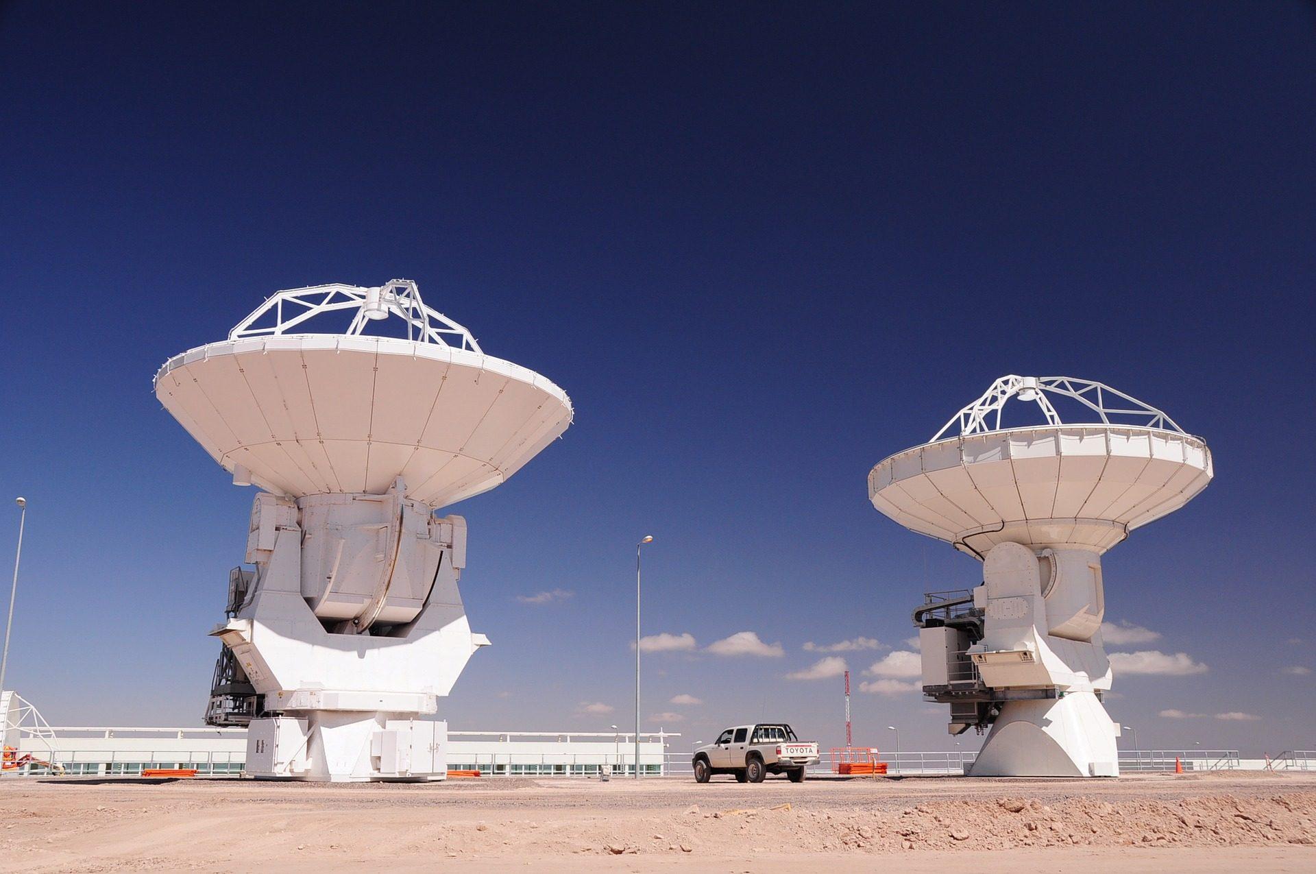المرصد, الفضاء, الهوائيات, exploración, البحوث, شيلي - خلفيات عالية الدقة - أستاذ falken.com