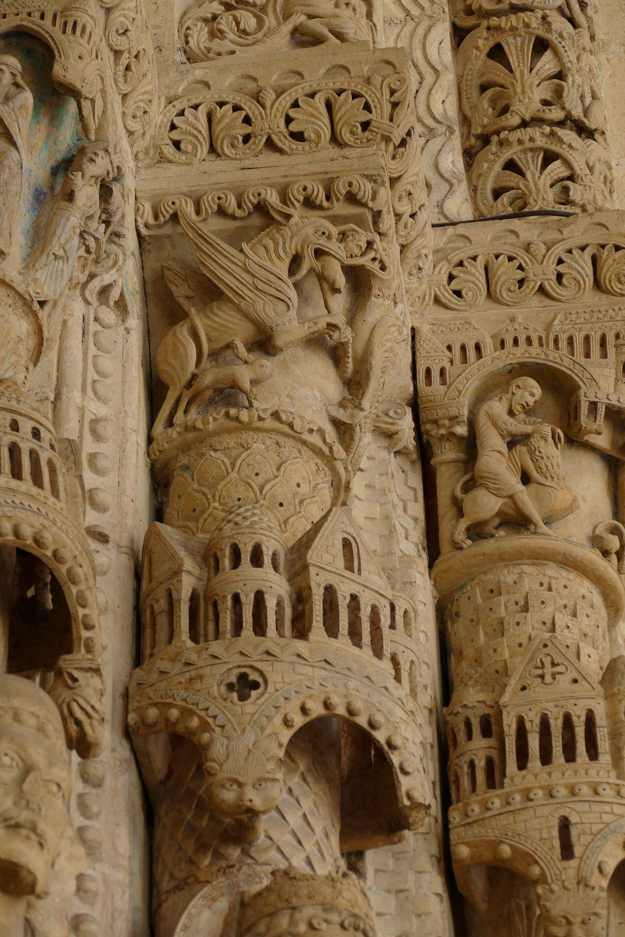 Parede, Igreja, Catedral, escultura, arte, ornamentação - Papéis de parede HD - Professor-falken.com