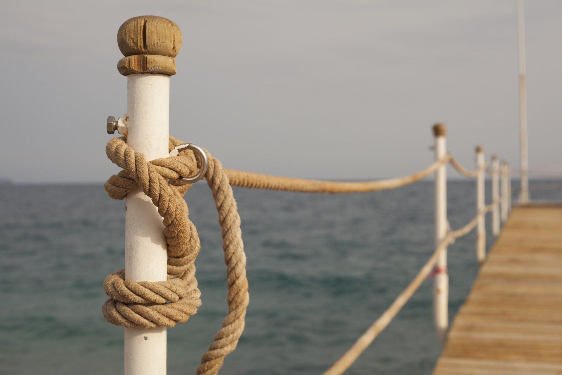 puerto, muelle, cuerda, sujección, mar - Fondos de Pantalla HD - professor-falken.com
