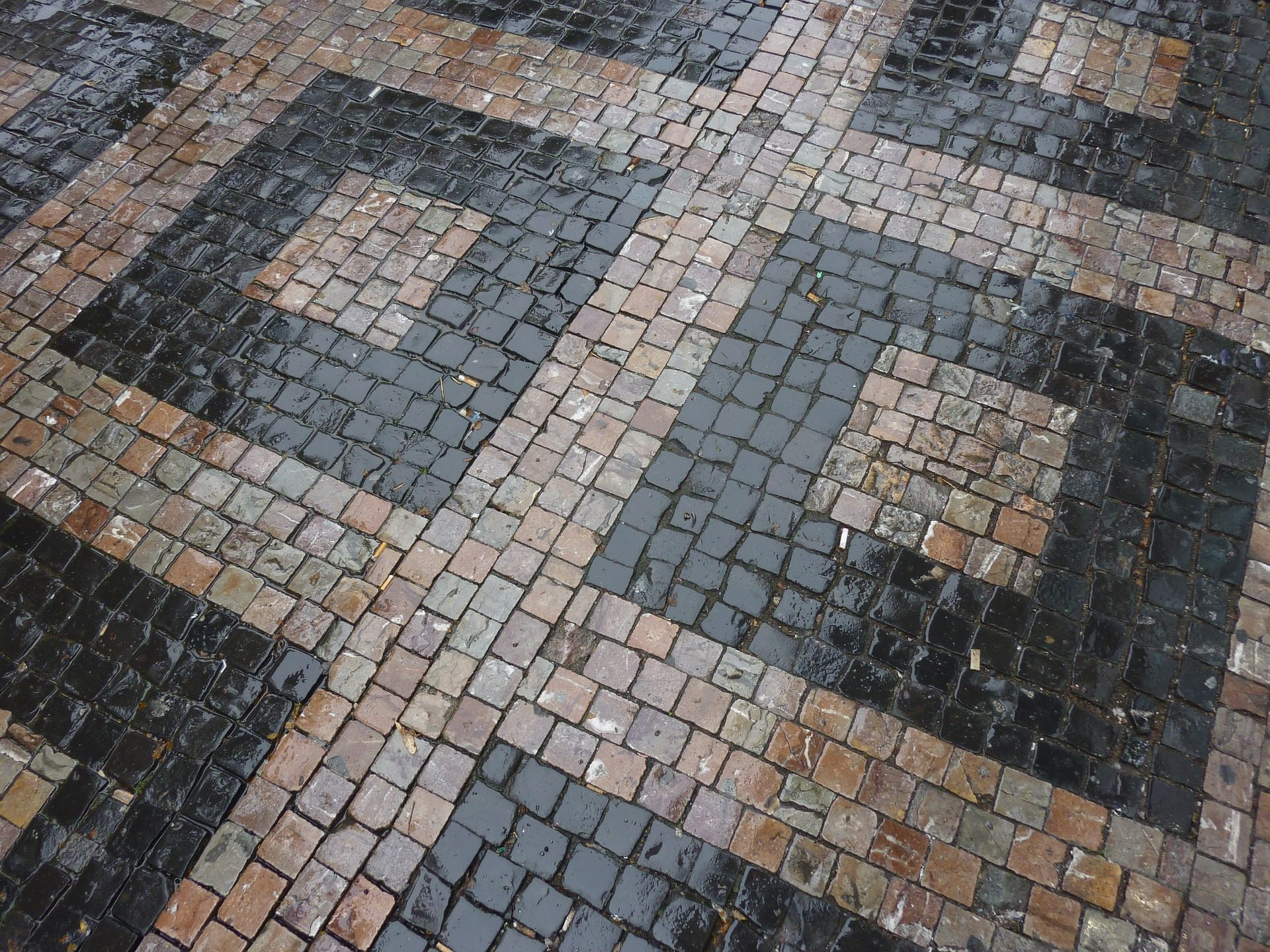 χώμα, πεζοδρόμιο, κεραμίδι, πέτρες, αριθμοί, υγρό - Wallpapers HD - Professor-falken.com