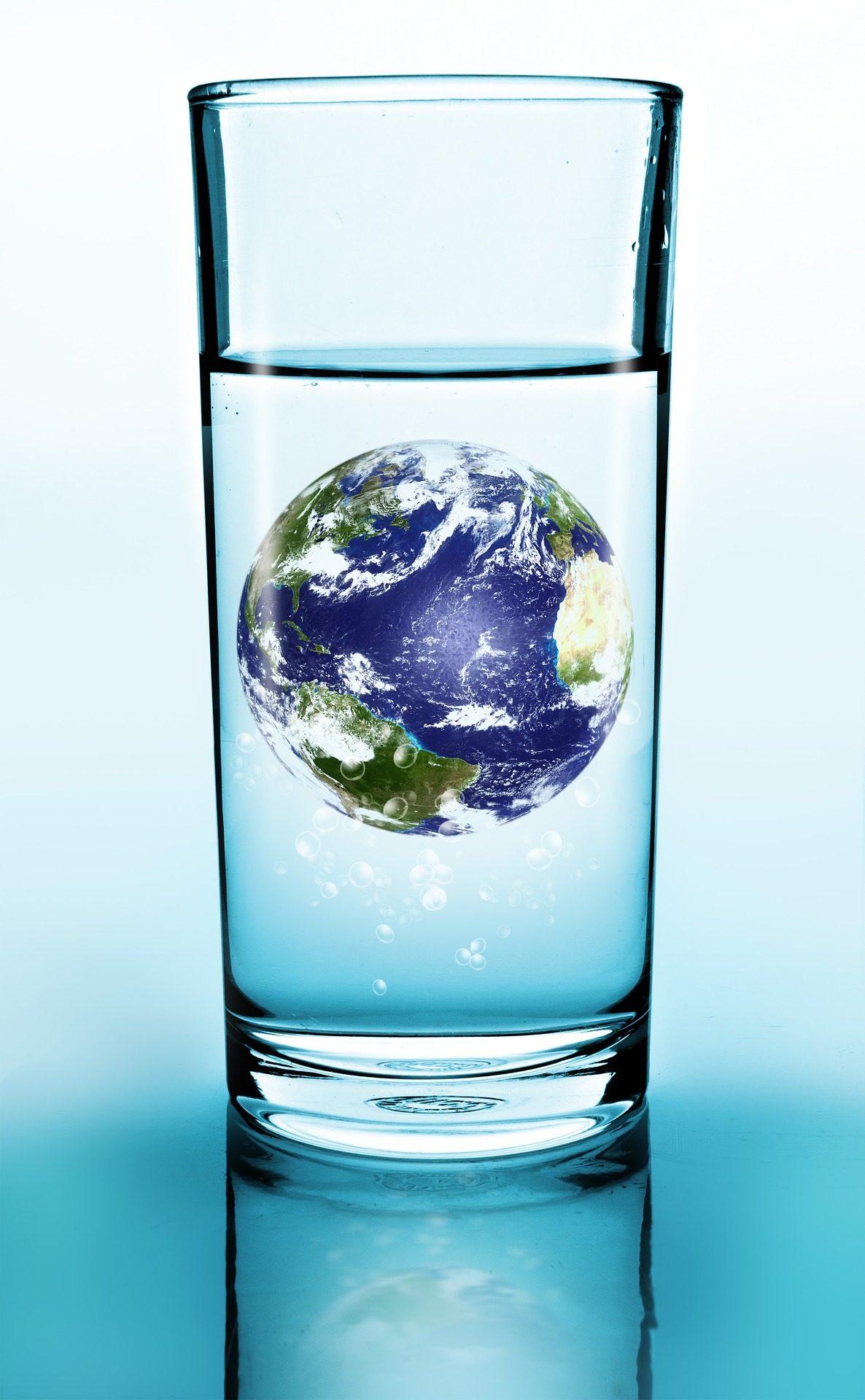玻璃, 水, 地球, 了世界, 行星, 领域 - 高清壁纸 - 教授-falken.com