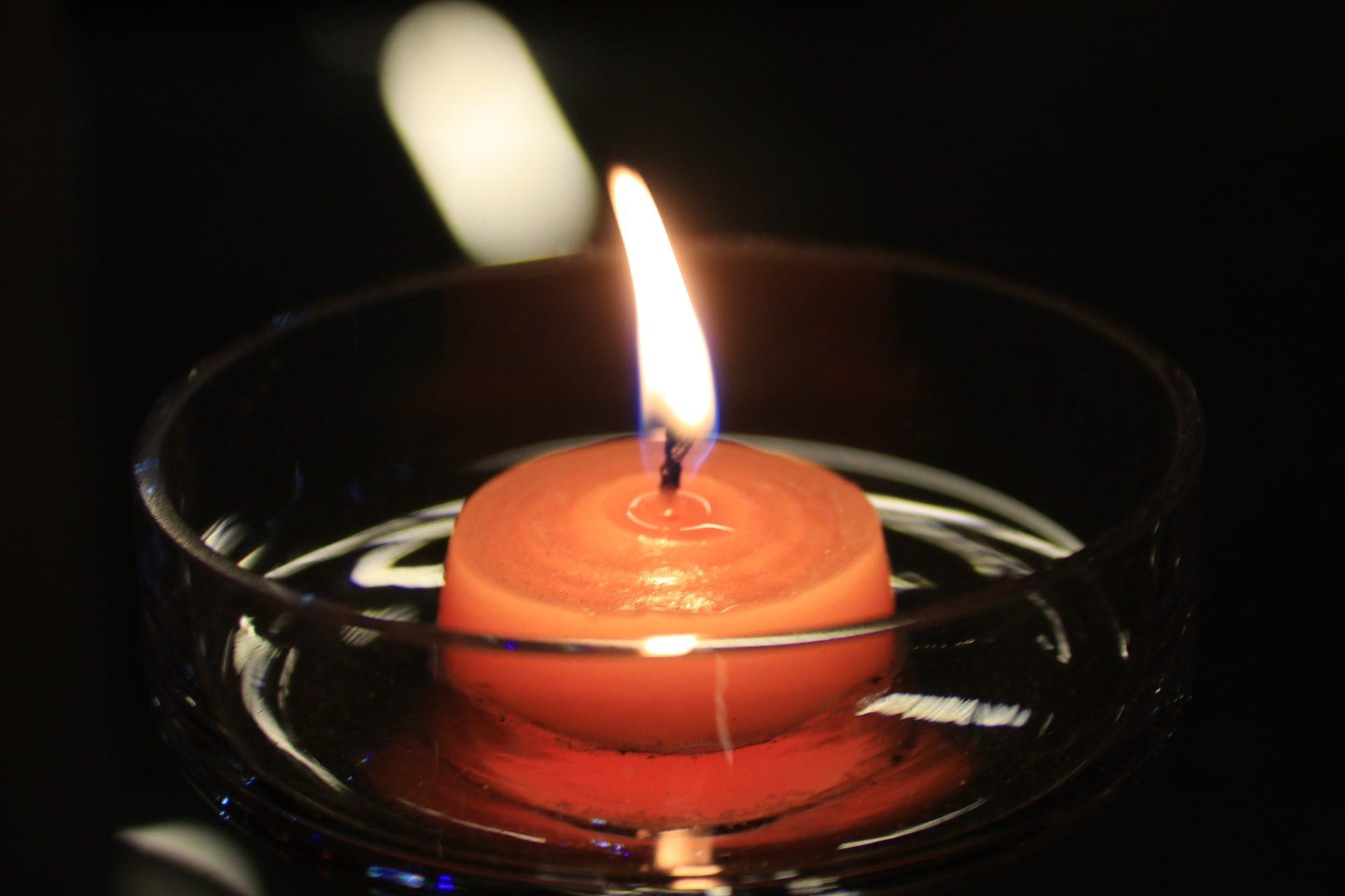 蜡烛, 蜡, 碗里, 玻璃, 火焰, 光 - 高清壁纸 - 教授-falken.com
