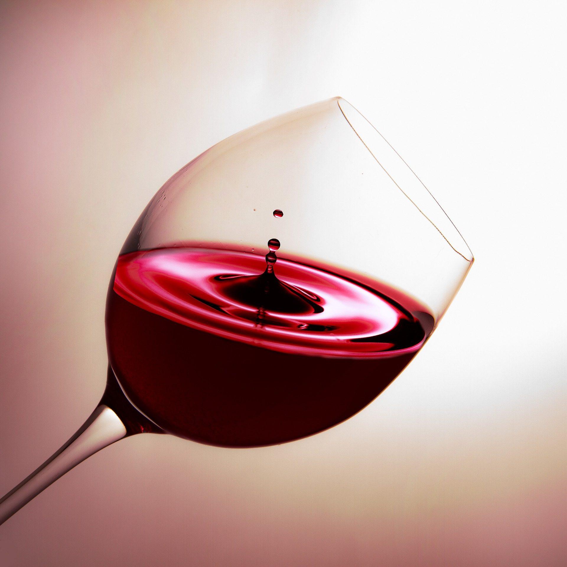 vino, copa, cristal, ondas, gotas, 1802230829