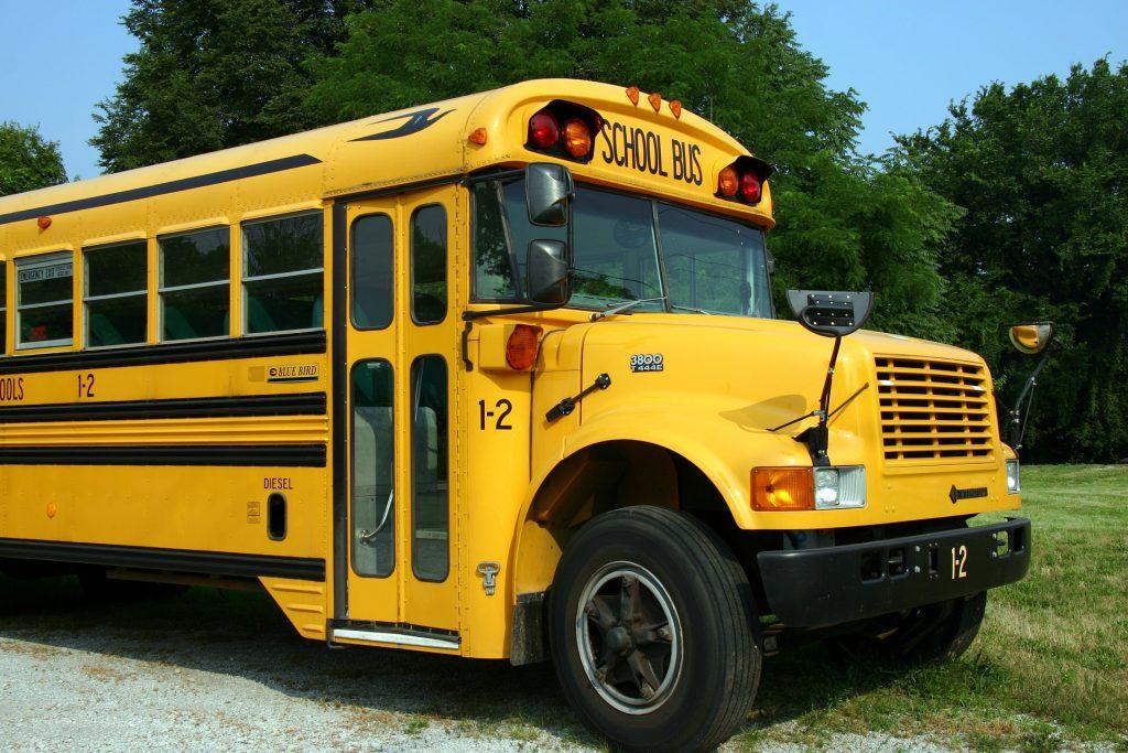 autobús, escolar, bus, colegio, 黄色, 1803141403