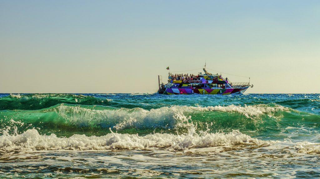 小船, 海, 波, 人, 旅游, 一方, 1803202125