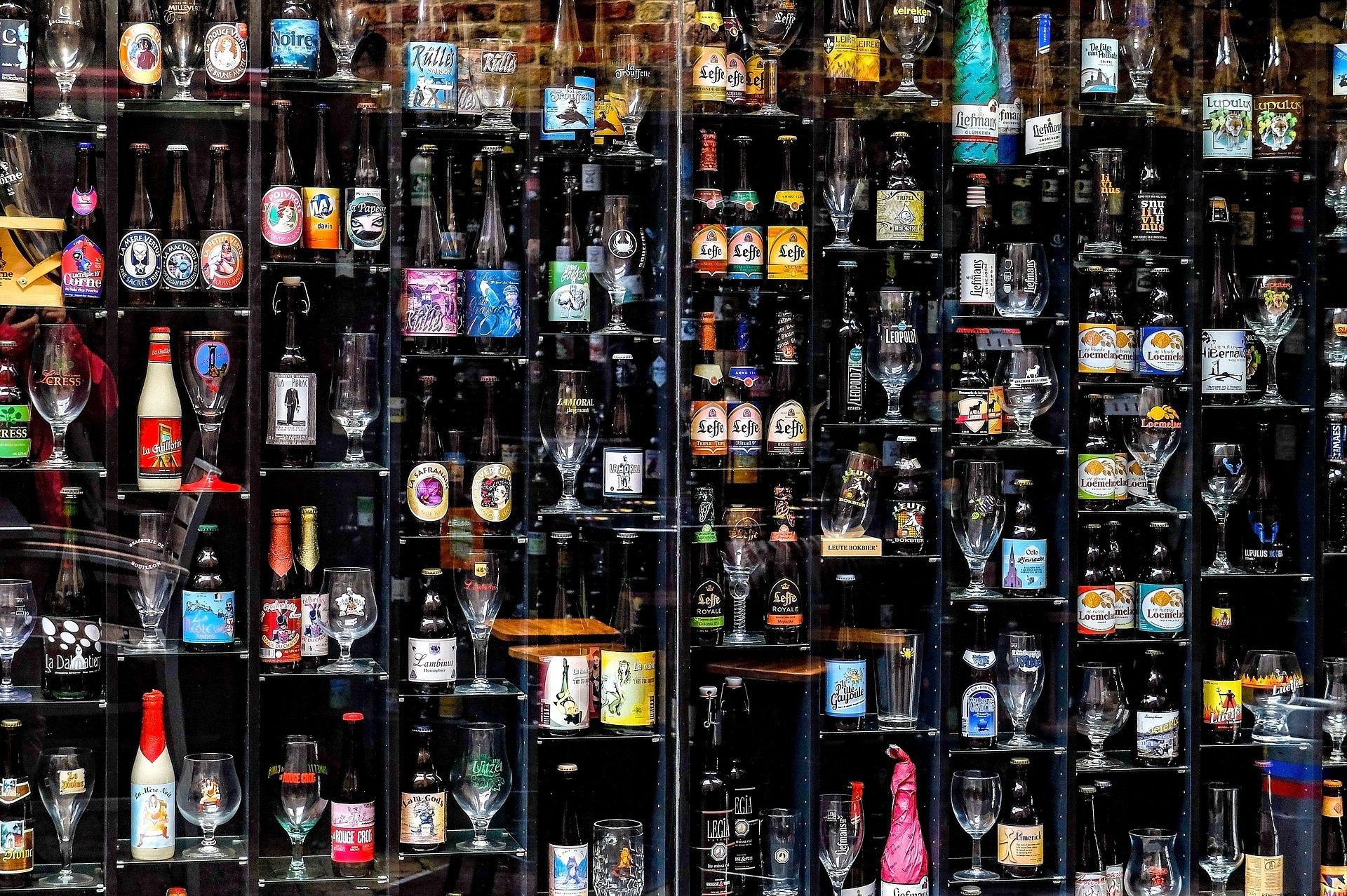 瓶, 花瓶, 杯子, cervezas, 集合, 搁置 - 高清壁纸 - 教授-falken.com