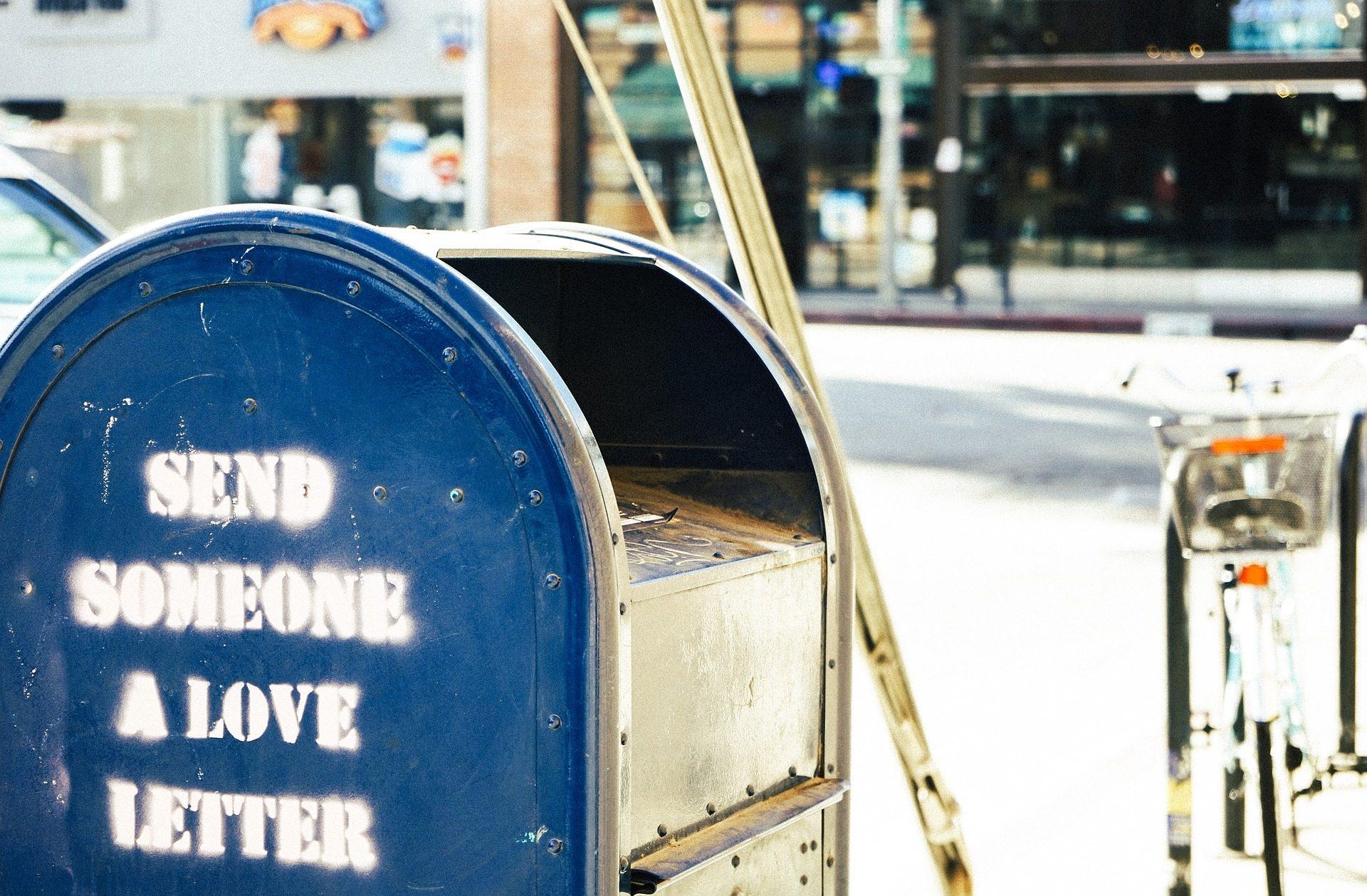 علبة البريد, mensaje, رسالة, البريد, البريدية, مدينة - خلفيات عالية الدقة - أستاذ falken.com
