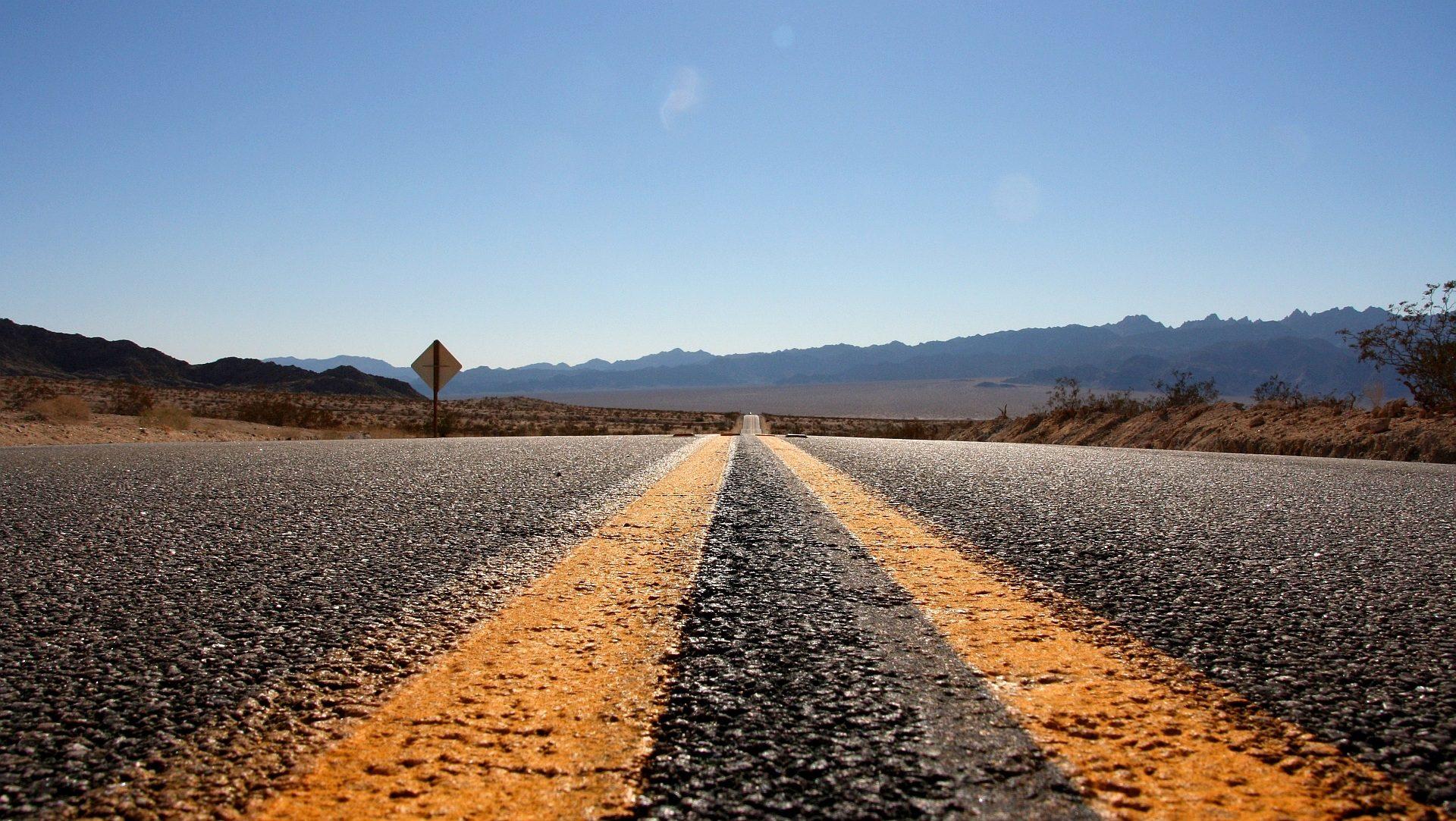 carretera, Straße, Asphalt, Montañas, Horizont, Abenteuer - Wallpaper HD - Prof.-falken.com