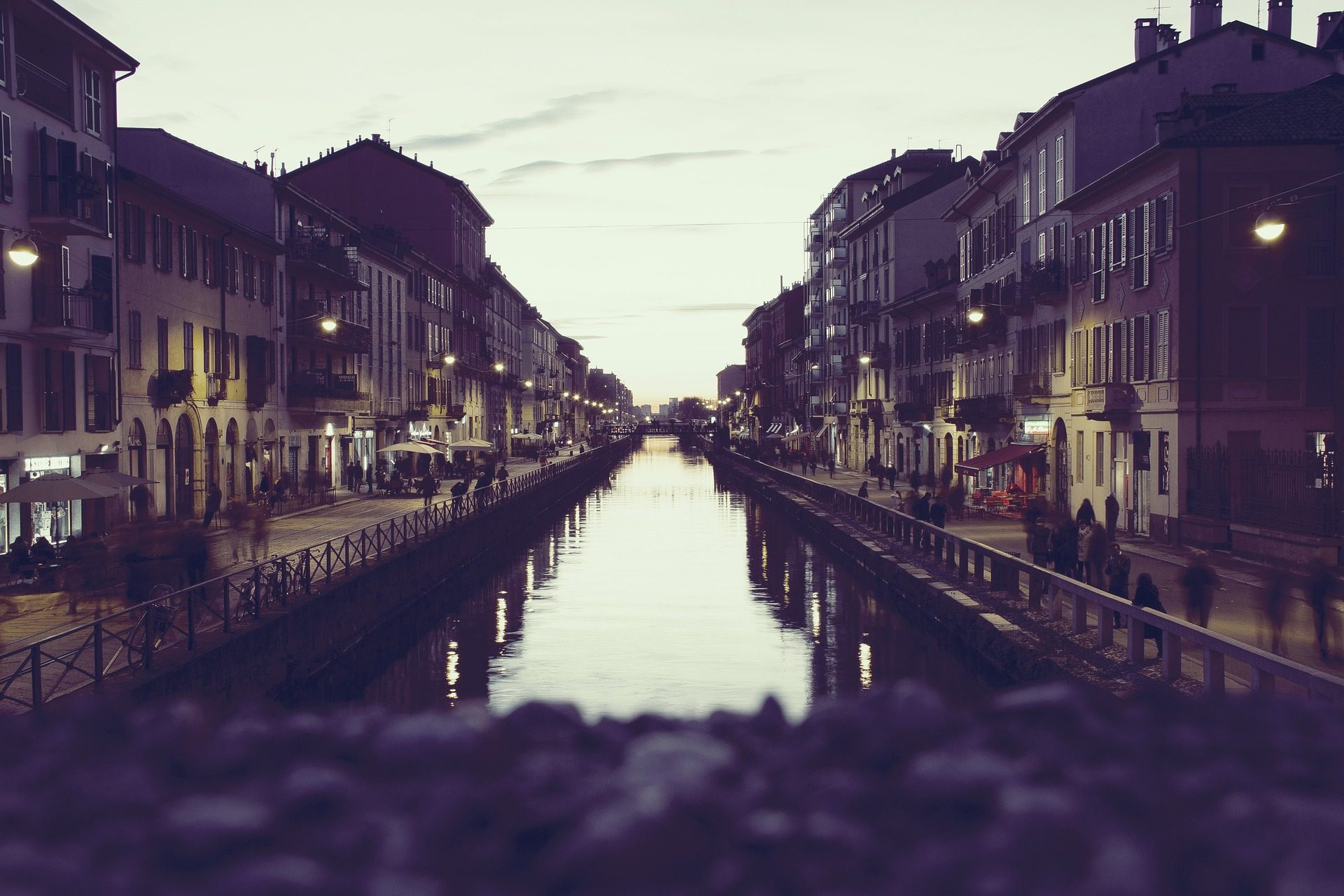 Город, канал, воды, Туризм, дома, Небо, отражение - Обои HD - Профессор falken.com