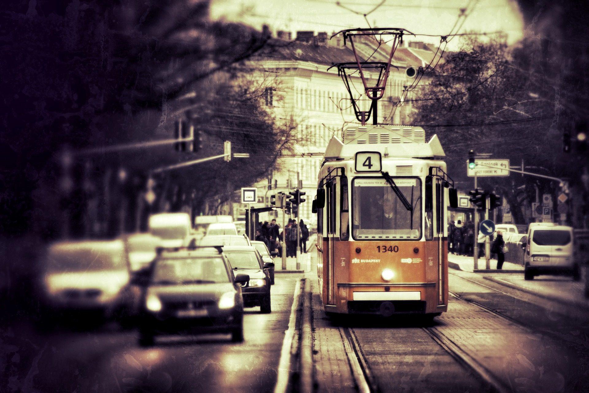 Cidade, tráfego, eléctrico, aglomeração, Budapest - Papéis de parede HD - Professor-falken.com