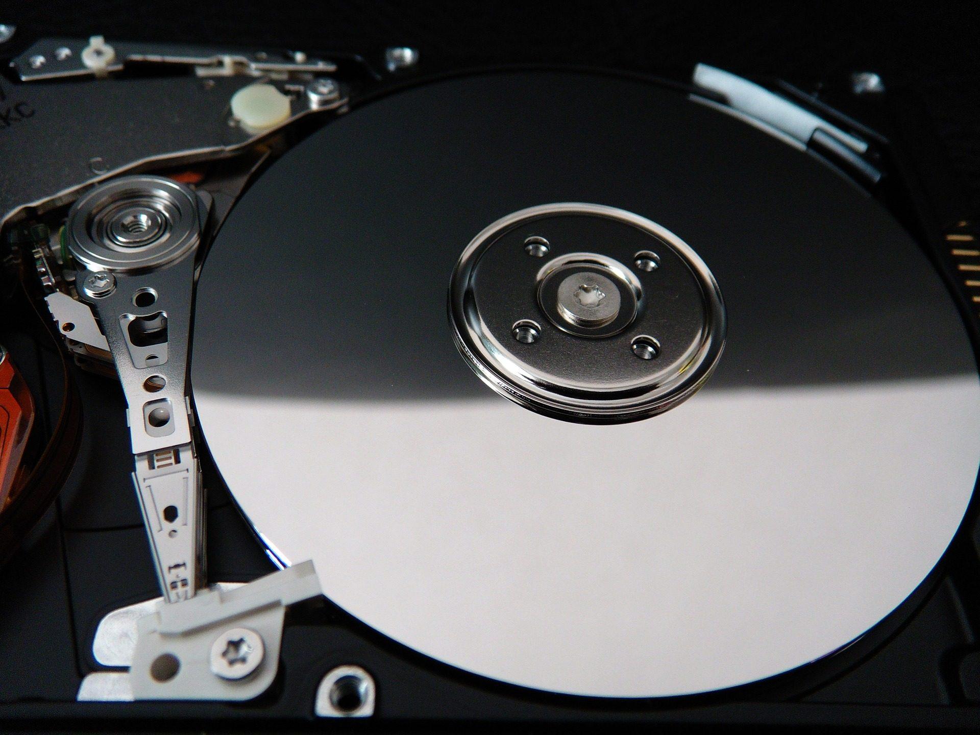 disque, dur, plats, cylindres, données, Metal, Ferromagnétisme - Fonds d'écran HD - Professor-falken.com