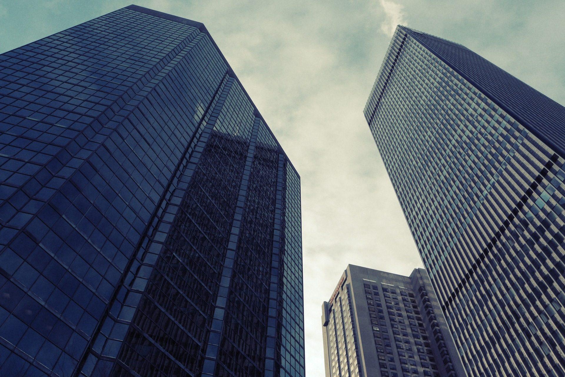 edifícios, arranha-céu, altura, Cidade, plantas - Papéis de parede HD - Professor-falken.com