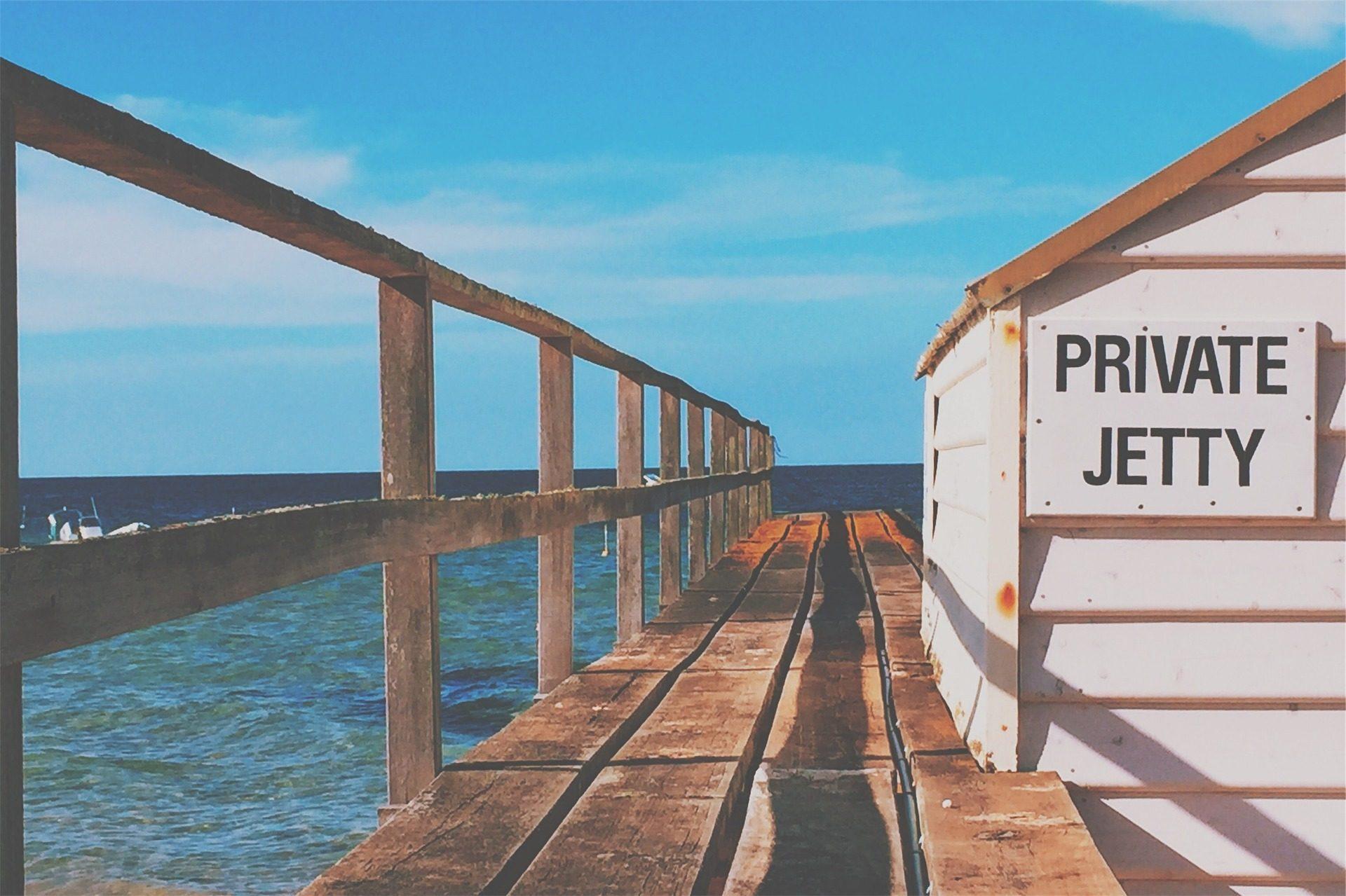 embarcadero, madera, caseta, playa, mar - Fondos de Pantalla HD - professor-falken.com