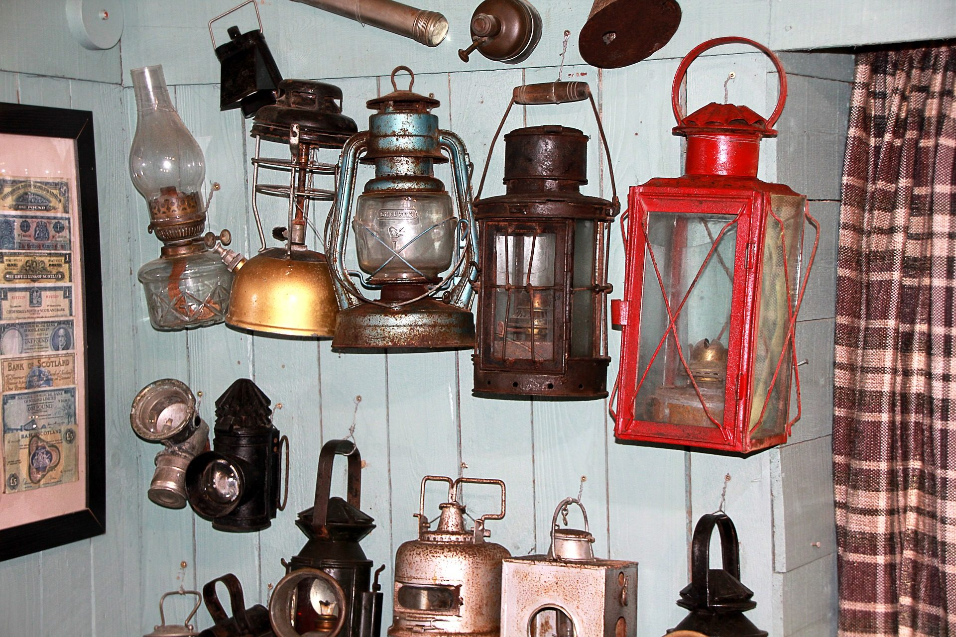 lanternas, lámparas, lâmpadas, Colección, velho, vintage - Papéis de parede HD - Professor-falken.com