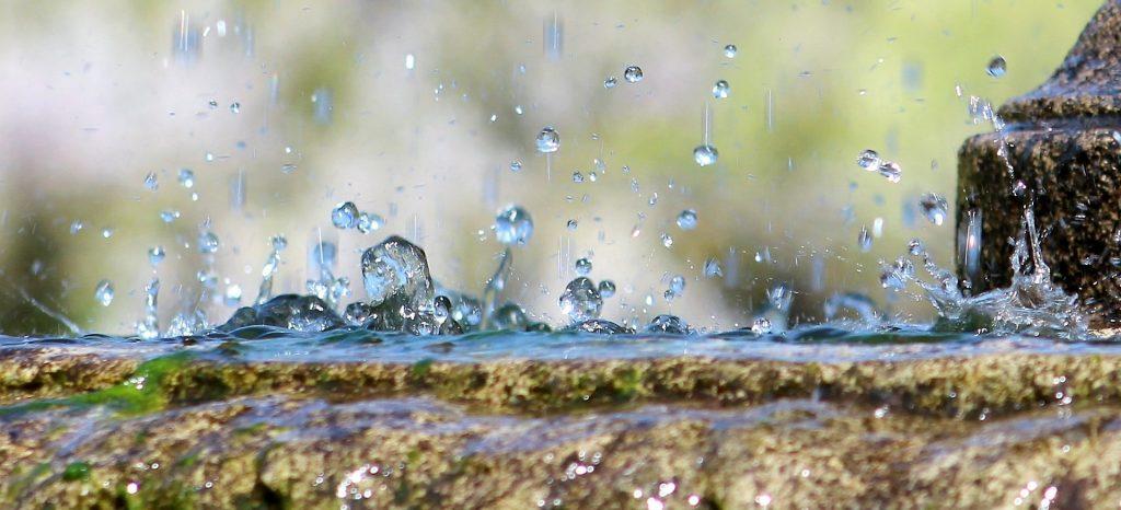 DROPS numéro, eau, source, Printemps, sed, 1803221856