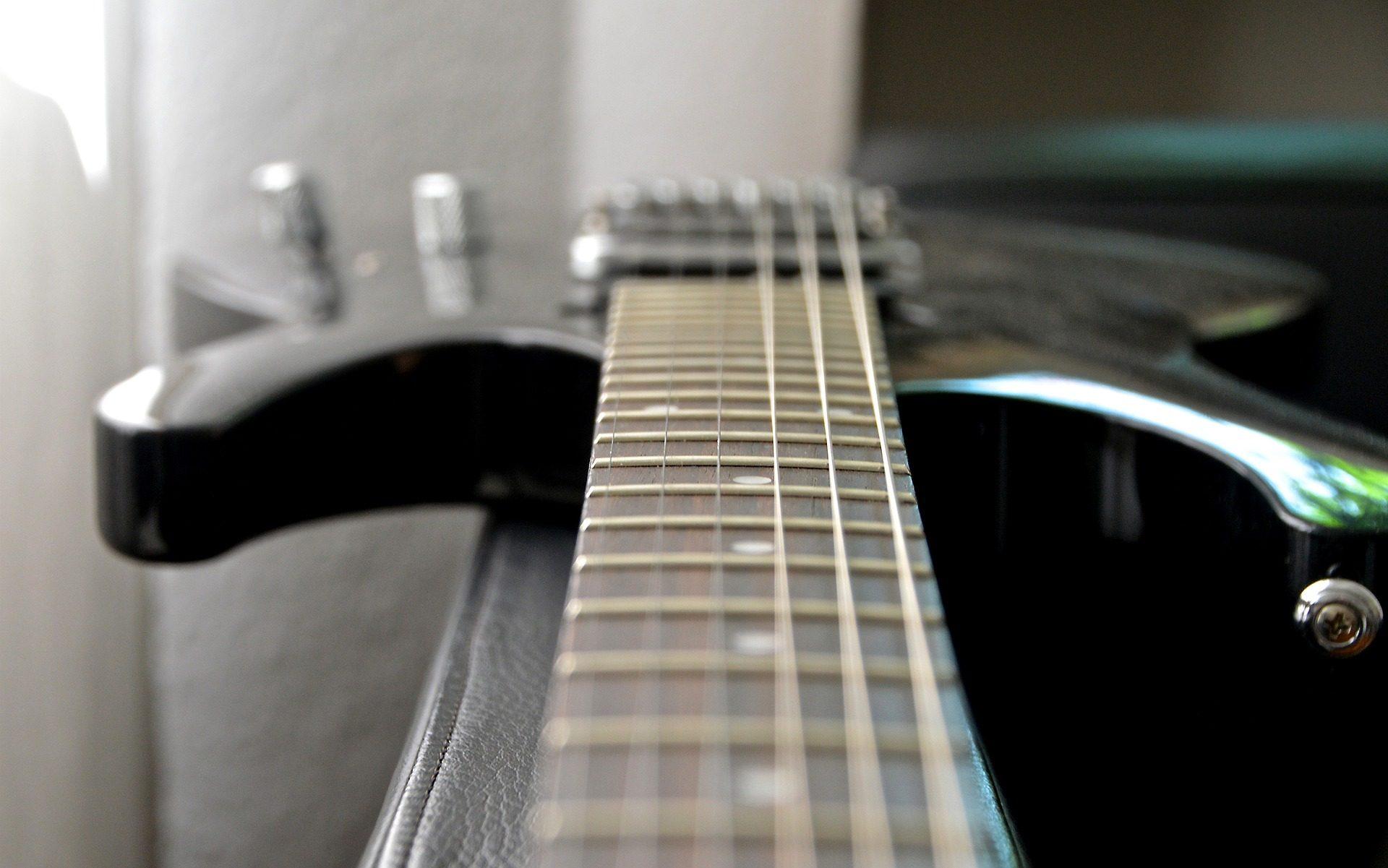 Guitarra, posición, cadeias de caracteres, mastro, instrumento - Papéis de parede HD - Professor-falken.com