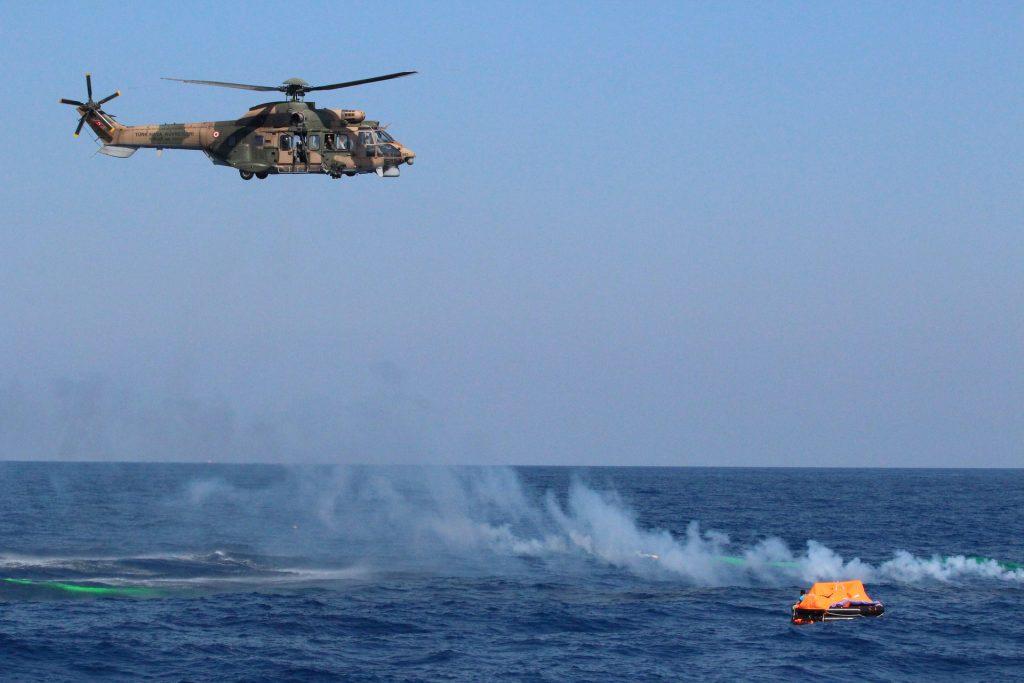 直升机, salvamento, 救援, deriva, 海, 1803151337