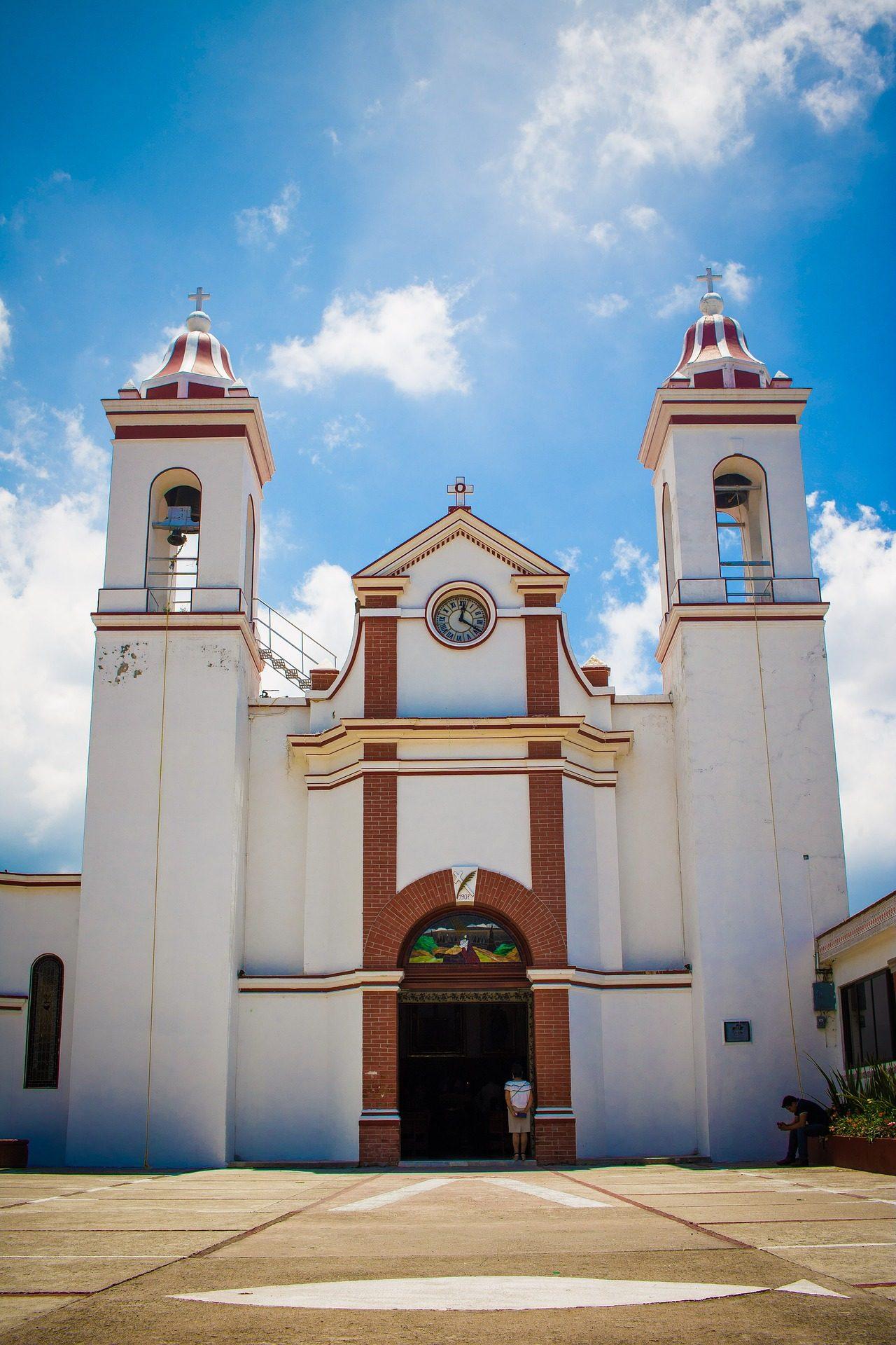 Église, Temple, bâtiment, Torres, campagnes, Sky - Fonds d'écran HD - Professor-falken.com