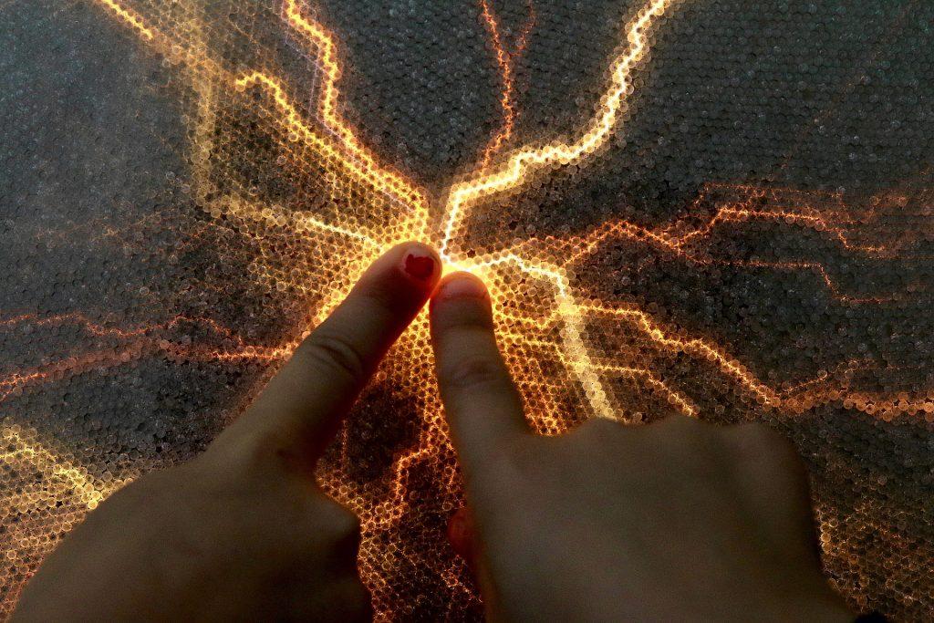 手, 手指, 光线, 能源, 联系人, 1803211055