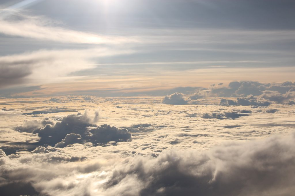 nubes, manto, cielo, alturas, volar, 1803241118