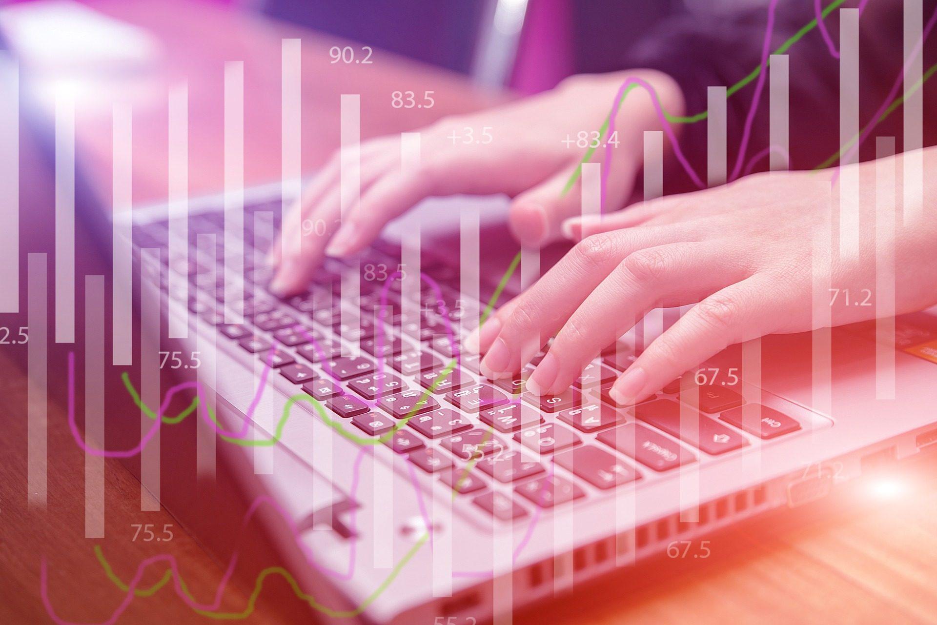 جهاز الكمبيوتر, أيدي, الرسم, أشرطة, الشؤون المالية, حقيبة - خلفيات عالية الدقة - أستاذ falken.com