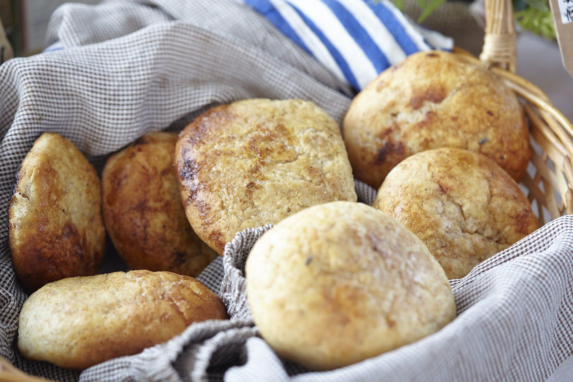 Brot, Brötchen, Bäckerei, Pfad, Tuch - Wallpaper HD - Prof.-falken.com