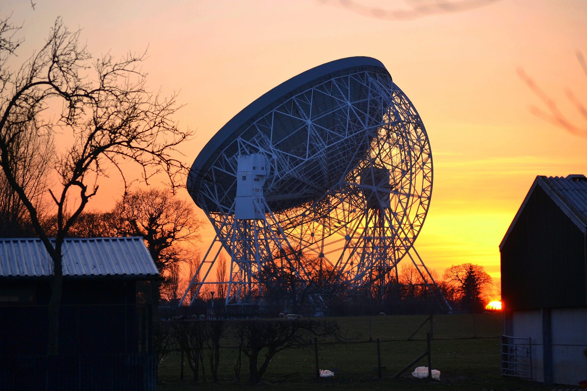 plataforma, estructura, telescopio, antena, ondas, radio - Fondos de Pantalla HD - professor-falken.com