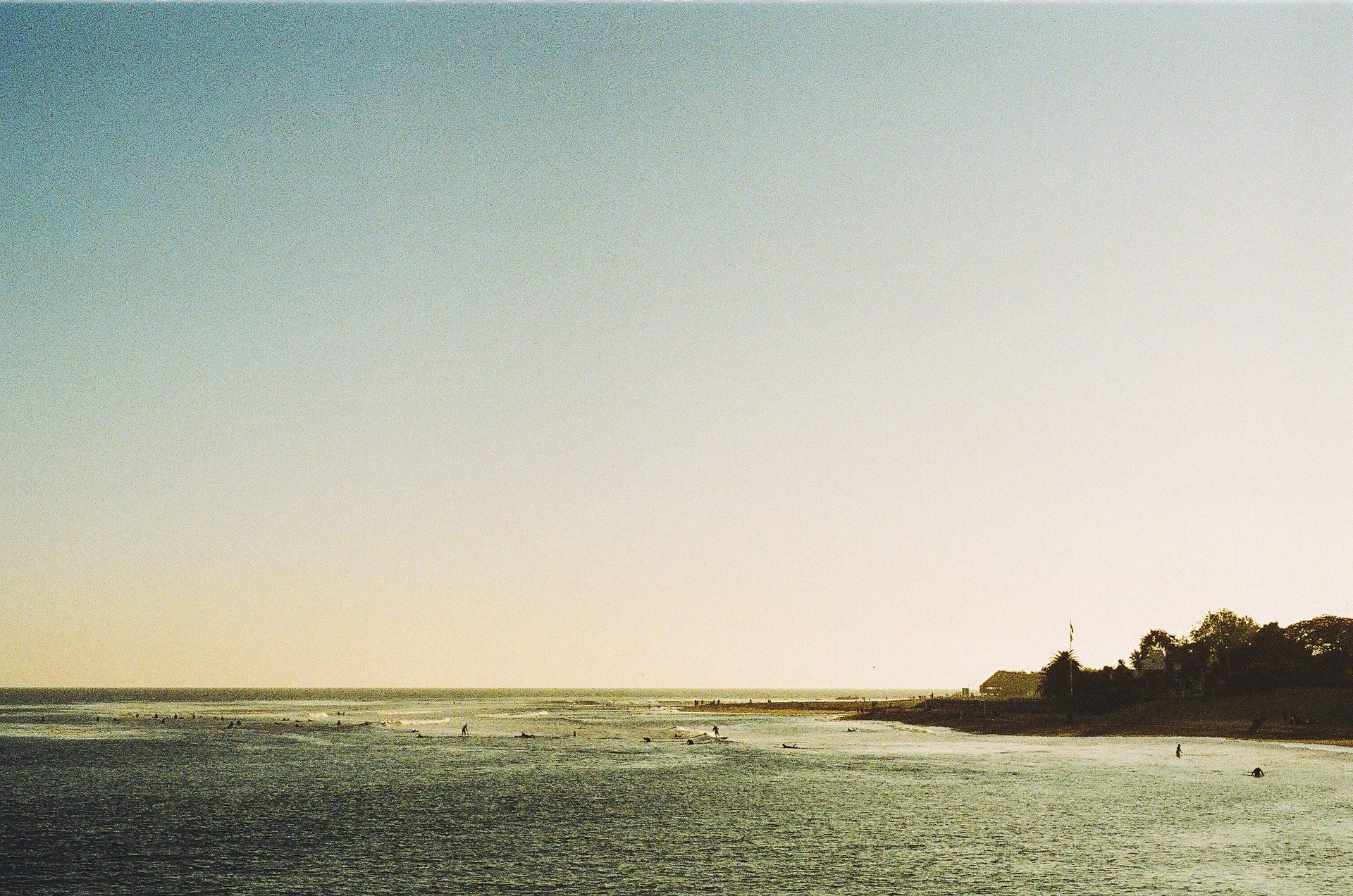 playa, océano, mar, malibú, surf - Fondos de Pantalla HD - professor-falken.com