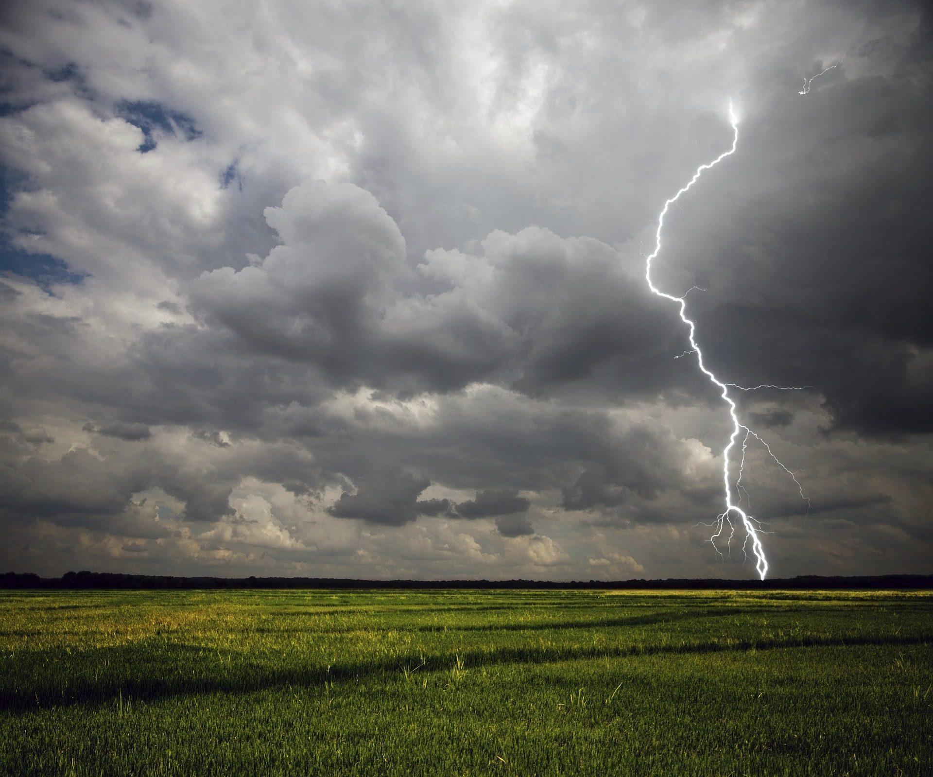 PRADO, sem formatação, campo, Ray, Tempestade, nuvens - Papéis de parede HD - Professor-falken.com