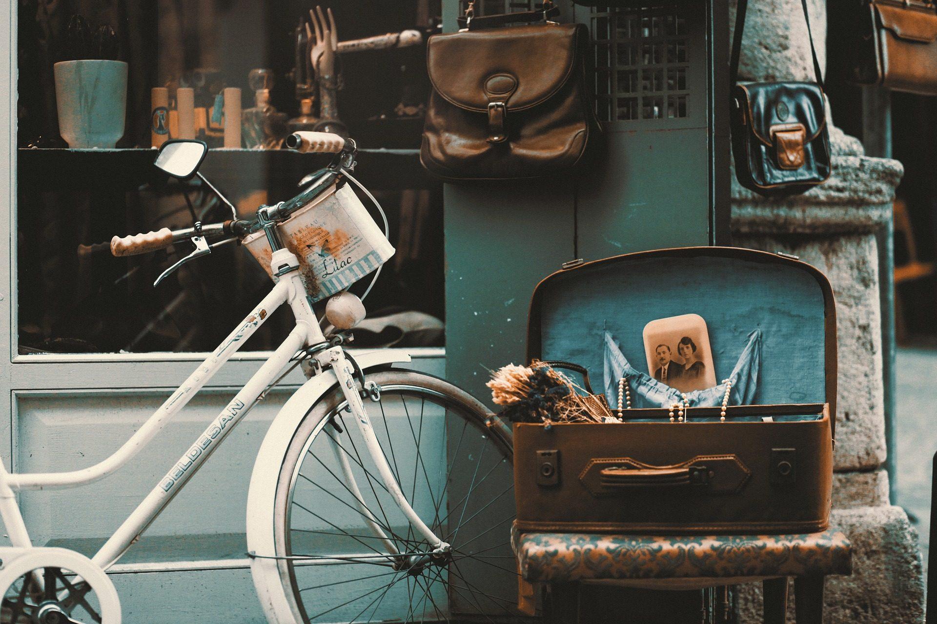 bicicleta, mala, Loja, bolso, vintage, retrô, Istambul - Papéis de parede HD - Professor-falken.com