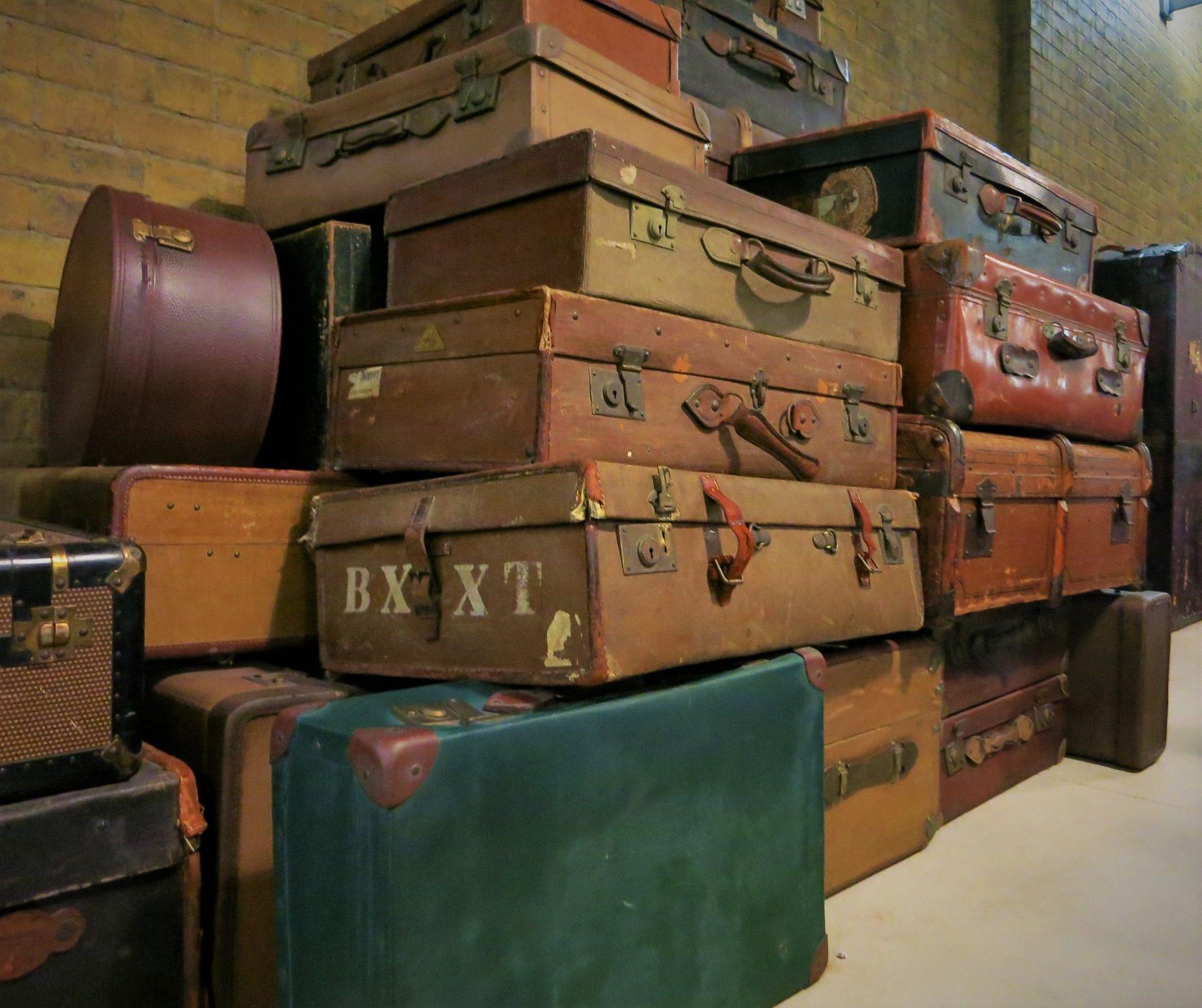 maletas, bagages, vieux, antique, Vintage - Fonds d'écran HD - Professor-falken.com
