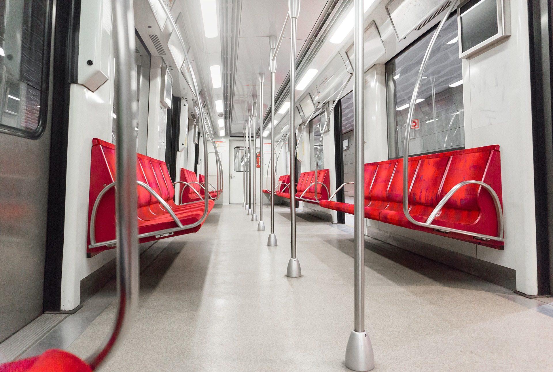 Metropolitana, tram, vagone, posti a sedere, metallo, Soledad - Sfondi HD - Professor-falken.com