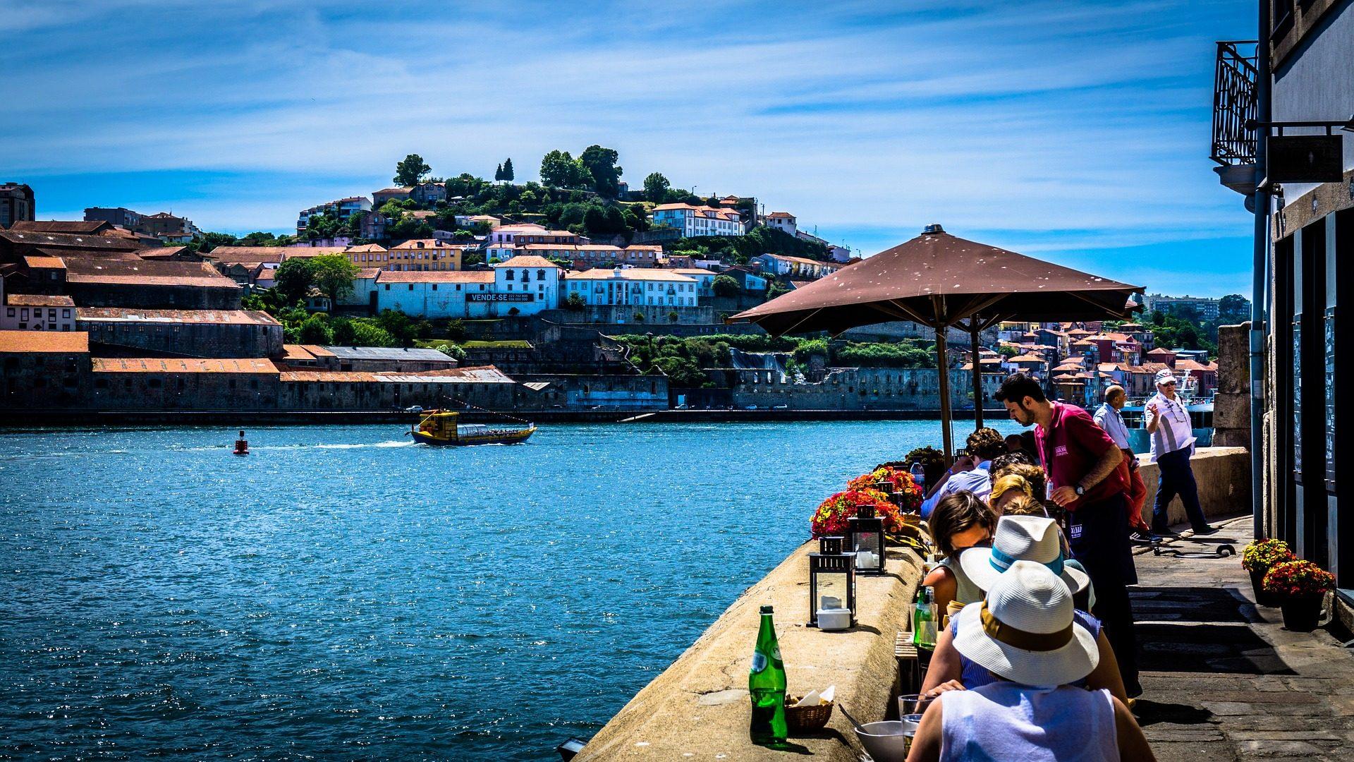 paseo, río, pueblo, comer, turismo, porto, portugal - Fondos de Pantalla HD - professor-falken.com