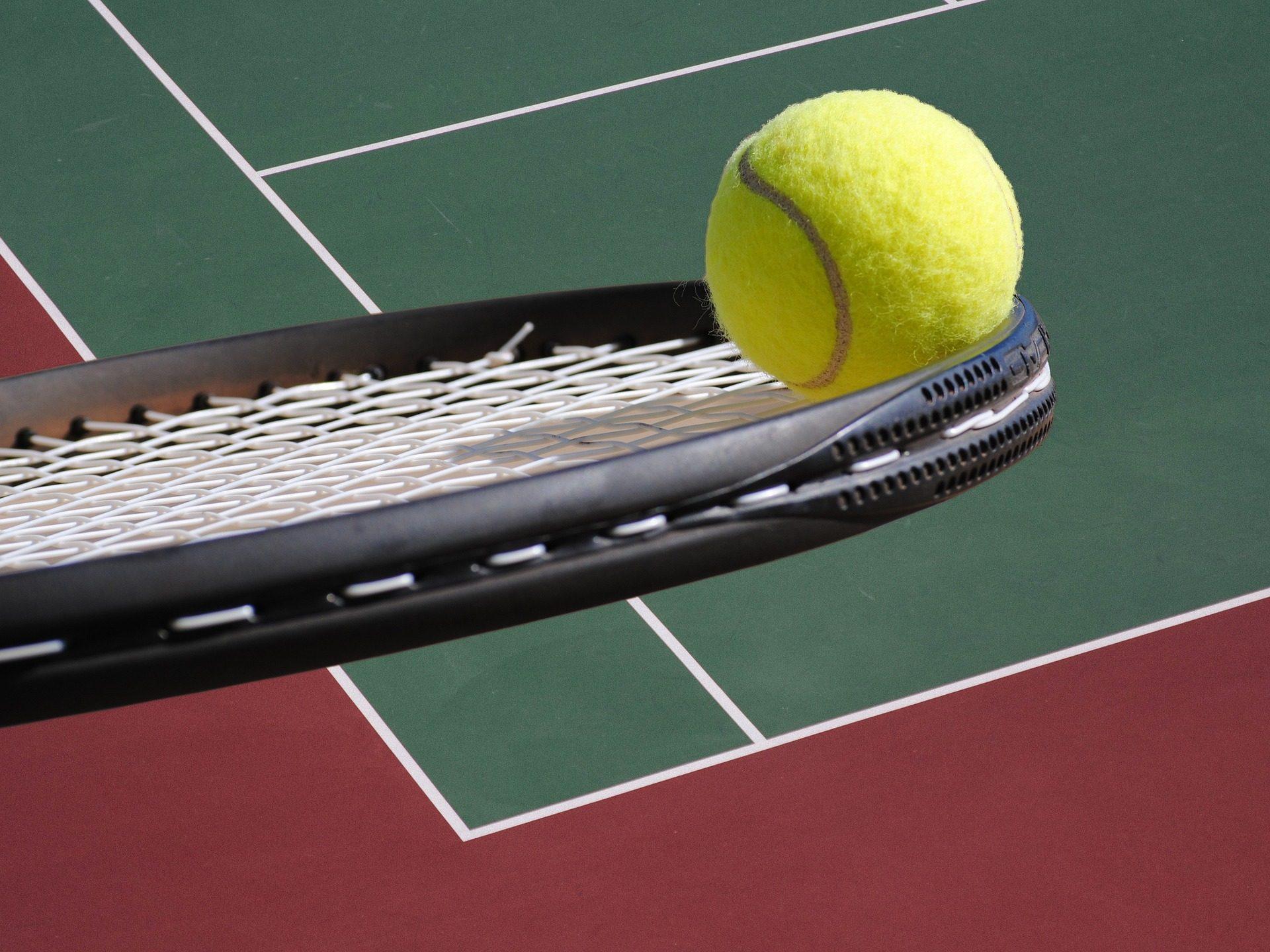 racchetta, Campo da tennis, palla, Corte, campo, stringhe - Sfondi HD - Professor-falken.com