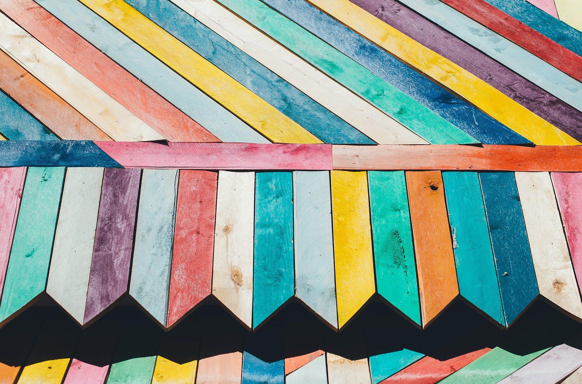 tablas, madera, colorido, vetas, alineación - Fondos de Pantalla HD - professor-falken.com