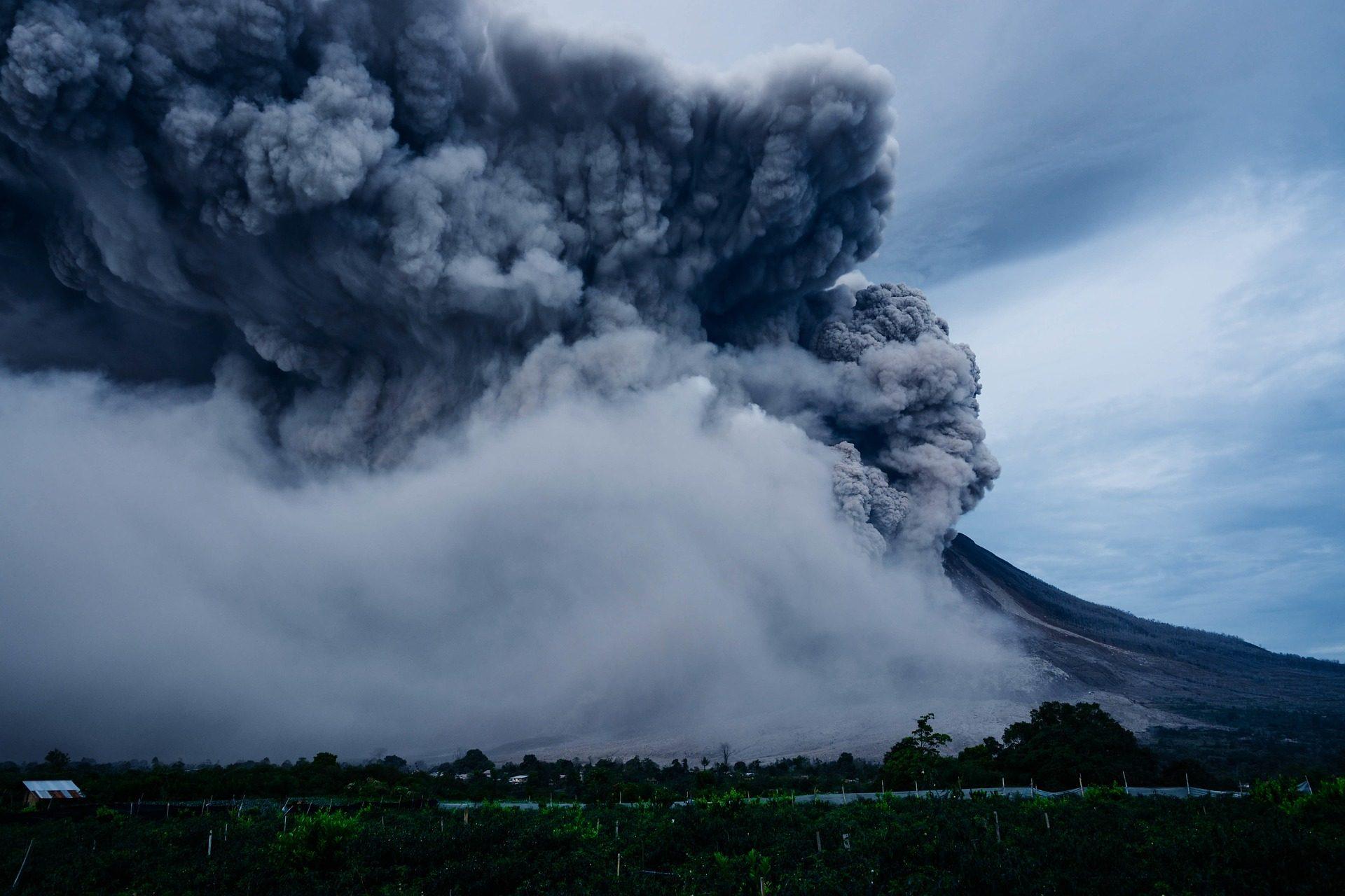 ज्वालामुखी, erupción, बादल, धुआँ, गैस - HD वॉलपेपर - प्रोफेसर-falken.com