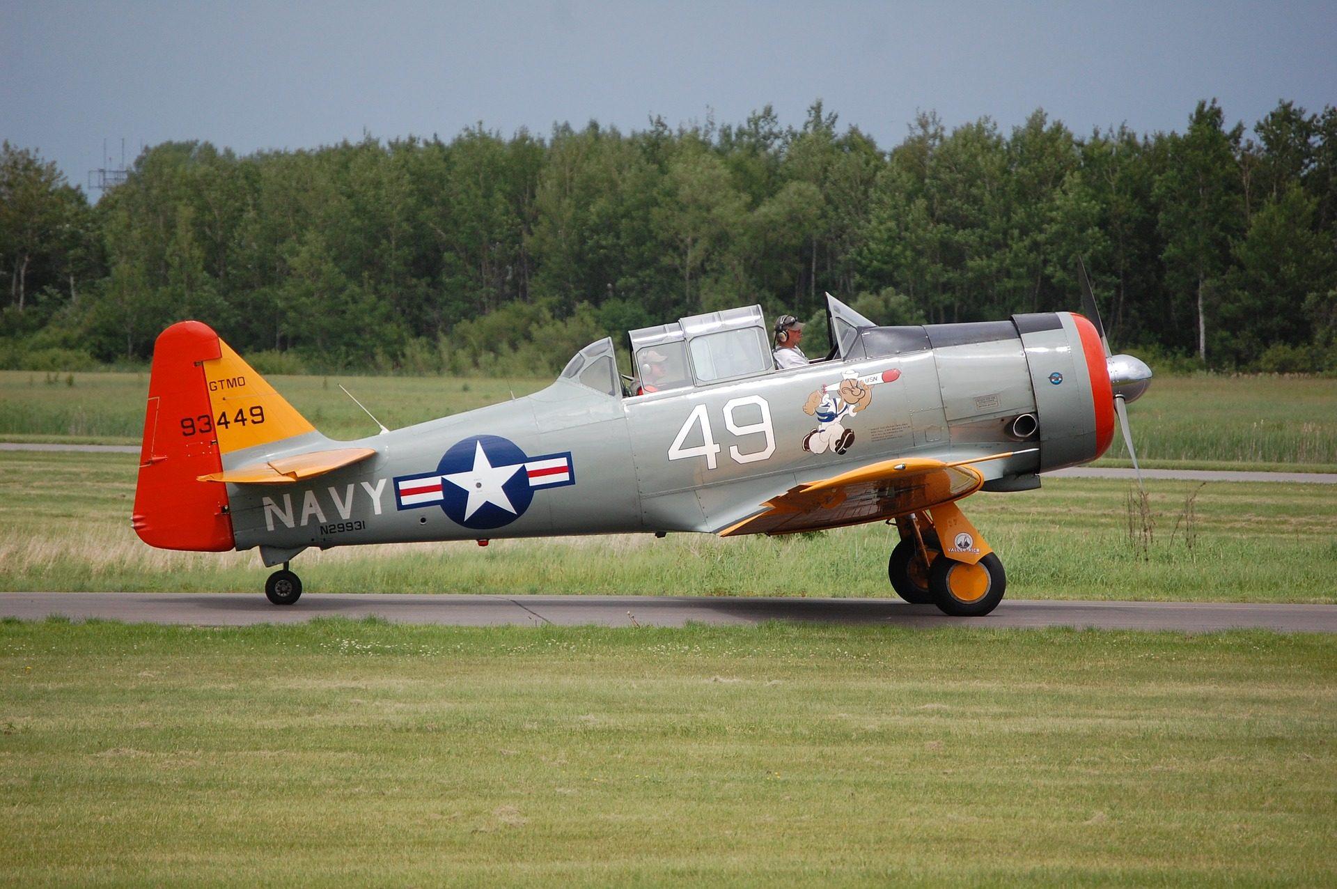 aerei leggeri, aeroplano, Marina, Esercito, vecchio, vintage - Sfondi HD - Professor-falken.com