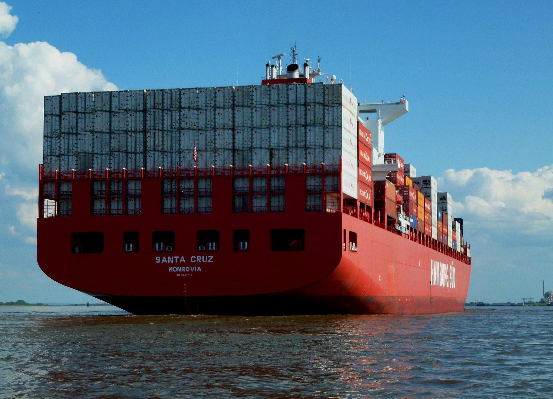 小船, 货船, 容器, 货物, 贸易 - 高清壁纸 - 教授-falken.com