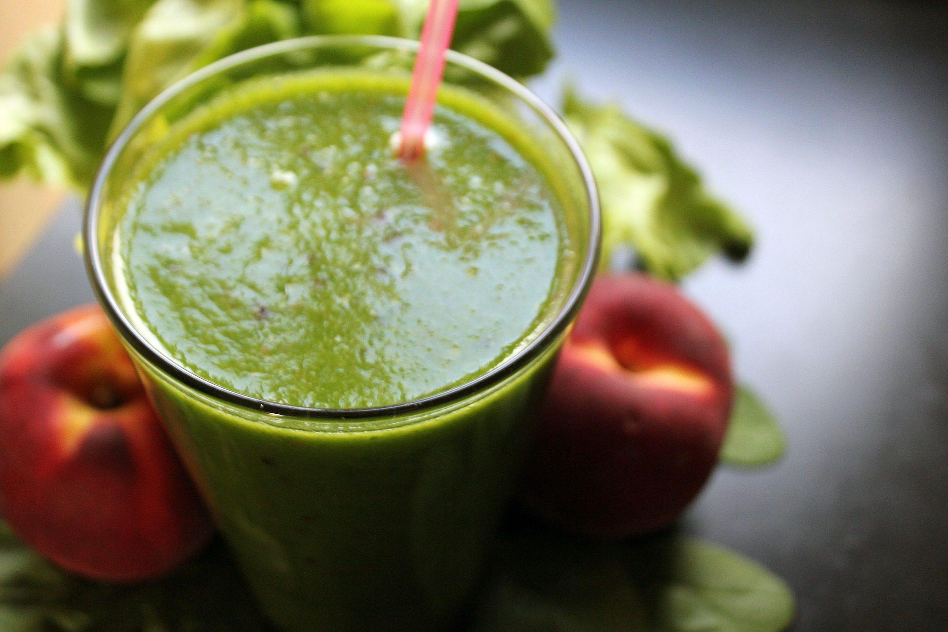 عصير, الطبيعية, صحية, التخلص من السموم, الأخضر - خلفيات عالية الدقة - أستاذ falken.com